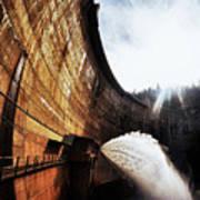 Mckays Dam Waterjet Art Print