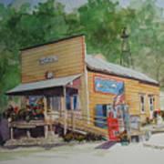 Mckays General Store Art Print