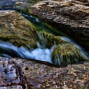 Mckinney Falls State Park-lower Falls 4 Art Print