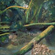 Mclane From The Bridge Art Print