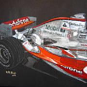 Mclaren F1 Alonso Art Print