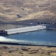 Mcnary Dam Art Print