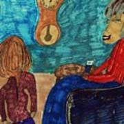 Me And My Granddaughter Art Print