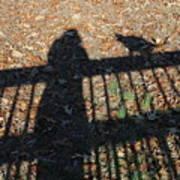 Me And My Shadow Art Print