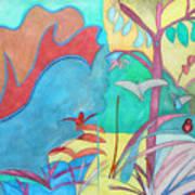 Me-bird In Paradise Art Print