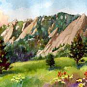 Meadow At Chautauqua Art Print