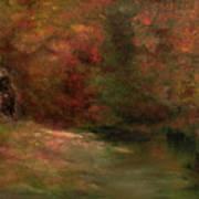 Meadow In Fall Art Print