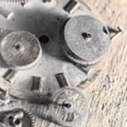 Mechanical Art Art Print