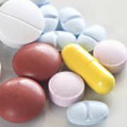 Medicinal Pills Art Print
