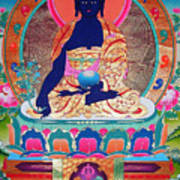 Medicine Buddha 11 Art Print