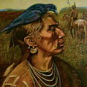 Medicine Crow Indian Art Print