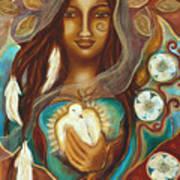 Medicine Woman Art Print