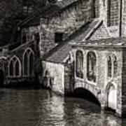 Medieval Architecture Of Bruges Art Print