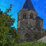 Medieval Bell Tower 1 Art Print