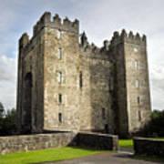 Medieval Bunraty Castle Ireland Art Print