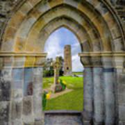 Medieval Irish Countryside Art Print