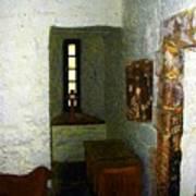 Medieval Monastic Cell Art Print