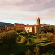 Medieval Tuscany Art Print