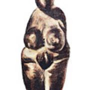 medieval Venus - fertility symbol Art Print