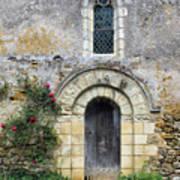 Medieval Window And Door Art Print