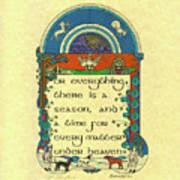 Medieval Winter Hunting Art Print