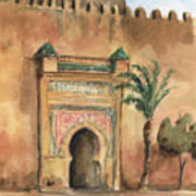 Medina Morocco,  Art Print