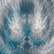 Meditating Cloud - 2 Art Print