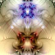 Meditative Symmetry 3 Art Print