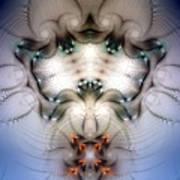 Meditative Symmetry 4 Art Print