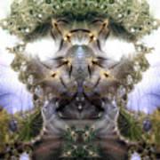 Meditative Symmetry 5 Art Print