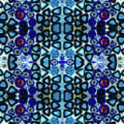 Mediterranean Blue  Art Print