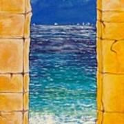 Mediterranean Meditation  Art Print