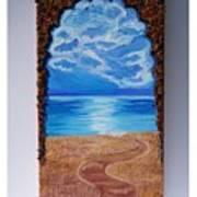 Mediterranean Road.  Art Print