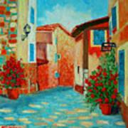 Mediterranean Street Art Print