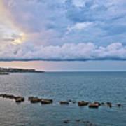 Mediterranean View II Art Print