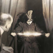 Medium During Seance 1912 Art Print
