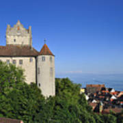 Meersburg Castle - Lake Constance Or Bodensee - Germany Art Print by Matthias Hauser