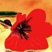 Meet Me In The Tulips Art Print