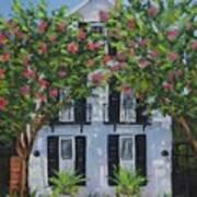 Meeting Street In Bloom Art Print