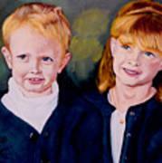 Megan And Justin Art Print