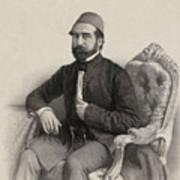Mehmed Cemil Bey Art Print