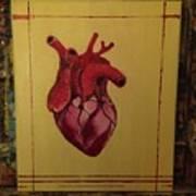 Mein Herz My Heart Art Print