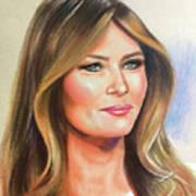 Melania Trump Art Print