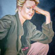 Melanie Griffith Art Print
