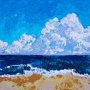 Melbourne Beachside Art Print