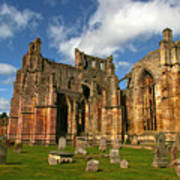 Melrose Abbey Art Print