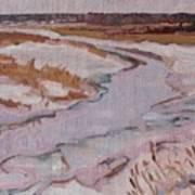 Melt Water Art Print