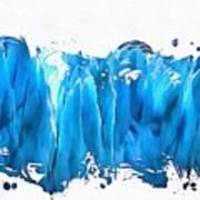 Melting Glaciers Art Print