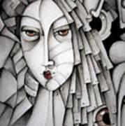 Memoirs Of A Geisha Art Print by Simona  Mereu