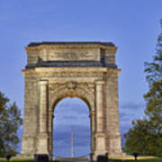 Memorial Arch Valley Forge Art Print